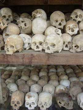 the Killing Fields of Cambodia were stopped by Vietnam