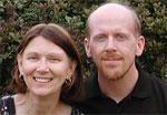 Diane Eickoff & Aaron Barnhart, aka Mrs & Mr TVBarn