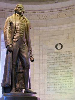 Thomas Jefferson, America's great democrat